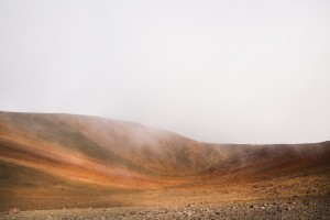 A landscape whose ground looks similar to the one that can be found on planet Mars is photographed on volcano Mauna Kea. Hawaii, Big Island. June 10, 2015 ©GAIA SQUARCI